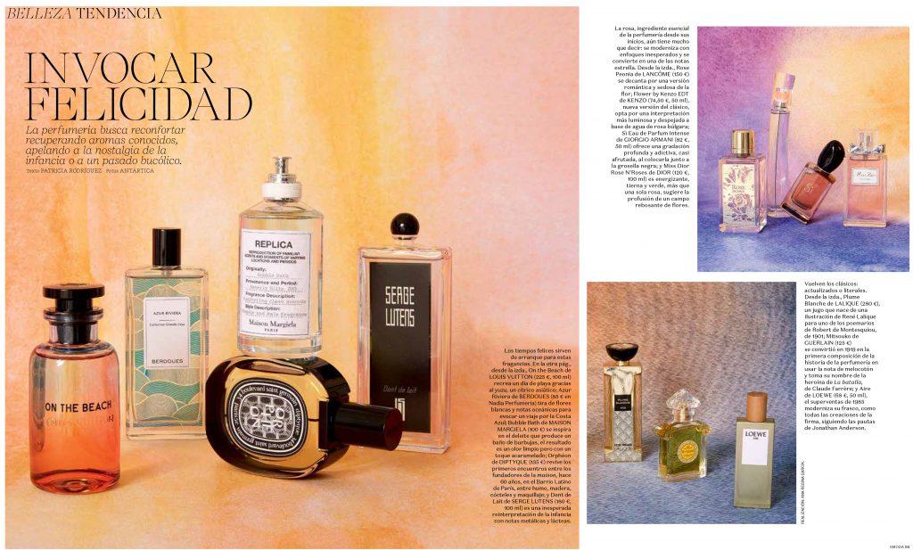 Revista S Moda fragancia Lalique
