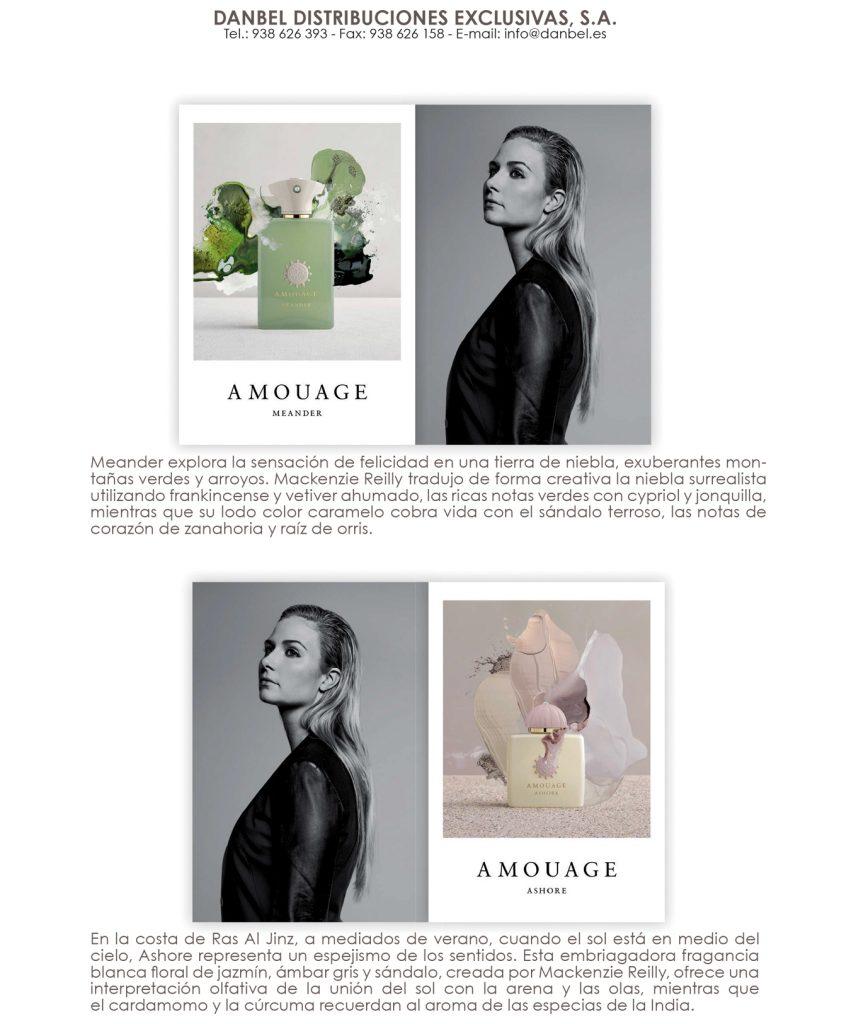 Revista Ventas de Perfumeria Amouage Renaissance
