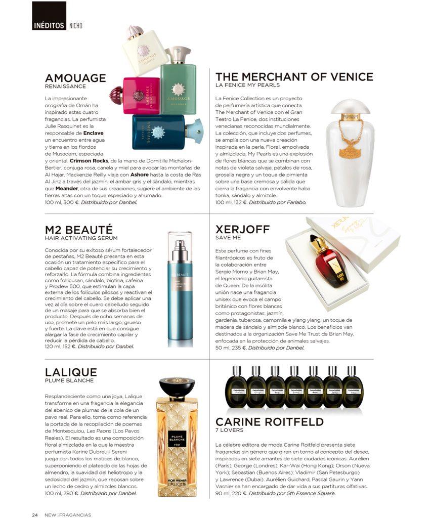 Revista News Fragancias perfumes nicho